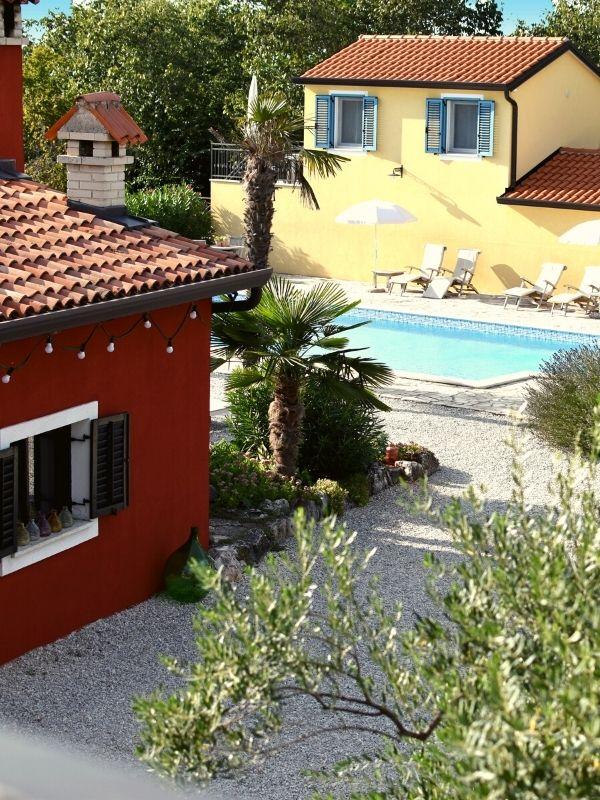 Kleiner Ferienanlage in Kroatien
