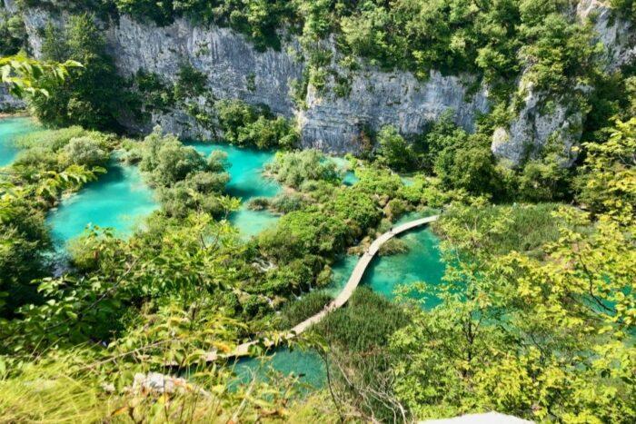 Plitvicer Seen Wasserfälle Kroatien