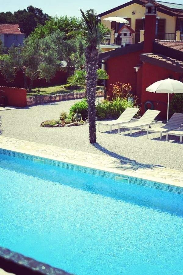 Kleinschalig vakantiepark met zwembad in Istrie Kroatie